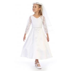 Beautiful Wholesale Girls White Lace Dresses