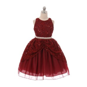 Sequins Flower Girl Dresses