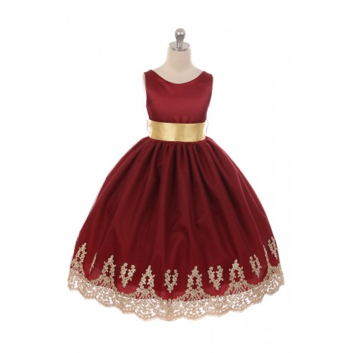 Special Occasion Embroidered Tulle Dresses