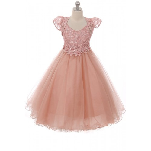 Tulle Bottom Pageant Dresses for Girls