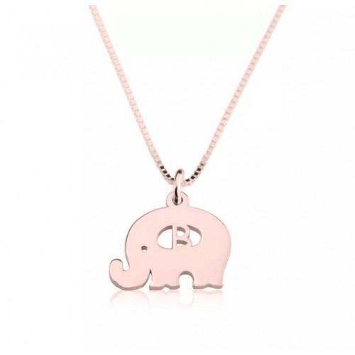 Baby Elephant Necklace