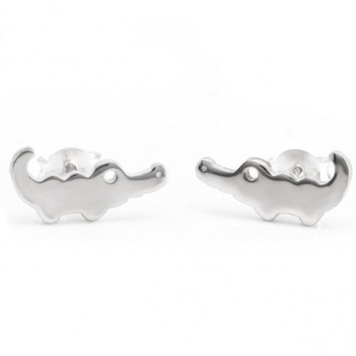 Baby Alligator Earrings